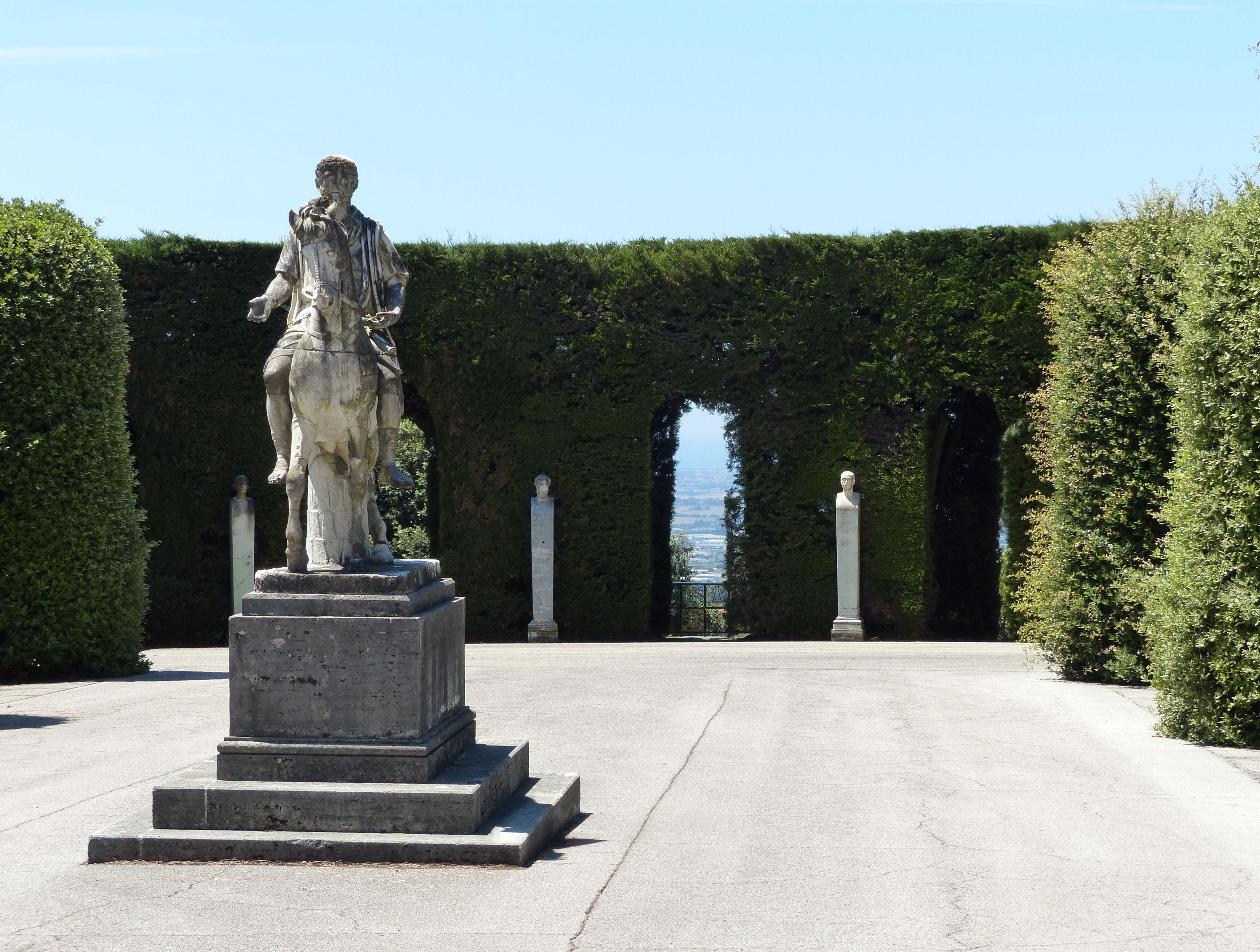 © Dipartimento di Scienze della Vita, Università di Trieste<br>by Andrea Moro<br>Ville Pontificie di Castel Gandolfo, Giardini di Villa Barberini, 27/06/2015<br>Distributed under CC-BY-SA 4.0 license.