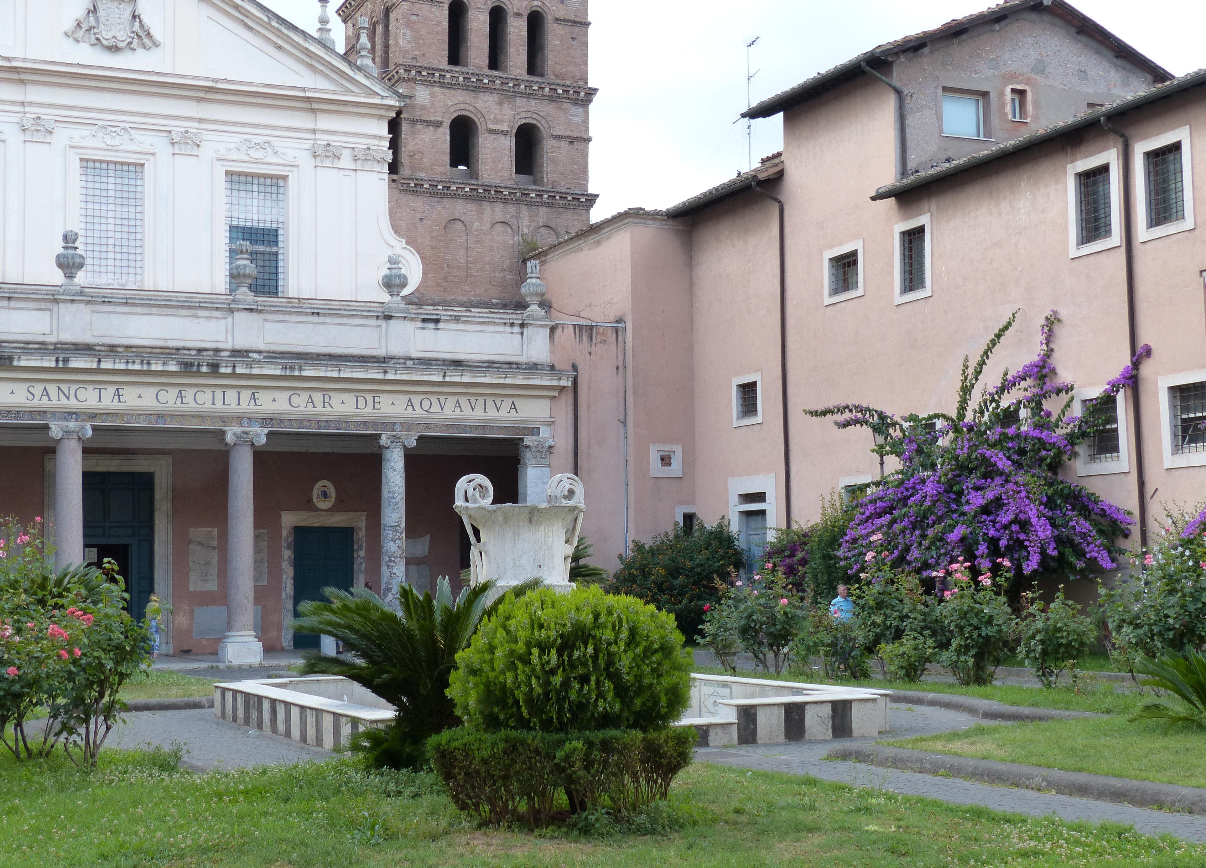 © Dipartimento di Scienze della Vita, Università di Trieste<br>by Andrea Moro<br>Comune di Roma, Basilica di Santa Cecilia di Trastevere, Roma, Lazio, Italia, 26/06/2015<br>Distributed under CC-BY-SA 4.0 license.
